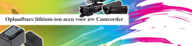 Camcorders Accu's